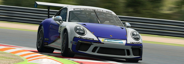 Finalists chase €15,000 in Porsche Esports Carrera Cup