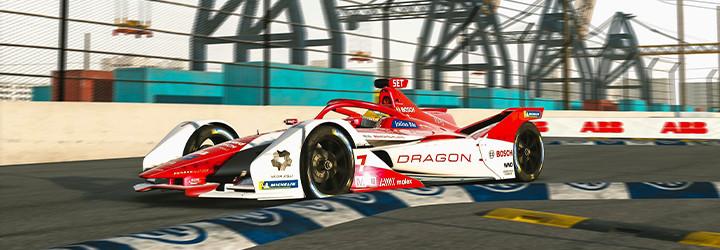 Rasmussen upsets Formula E: Accelerate championship