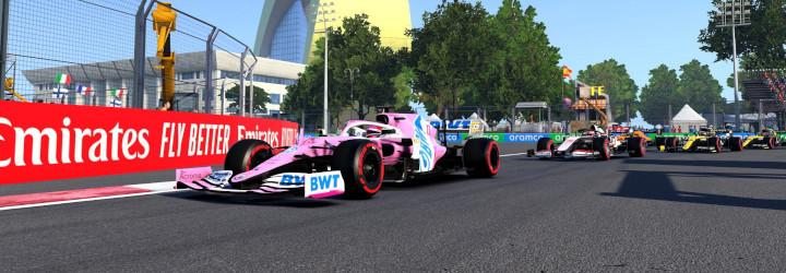 F1 Esports Pro Exhibition Rates Drivers, Lacks Action