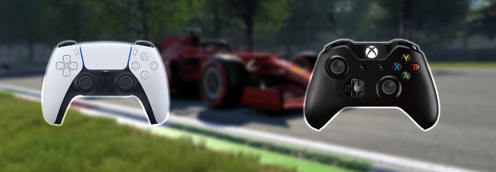 The best controller settings for F1 2021