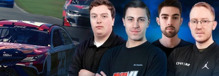 Four eNASCAR racers talk Playoffs – Who'll win $100,000?