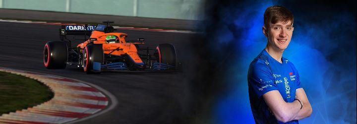 Wilson Hughes: PlayStation gamer to McLaren racer