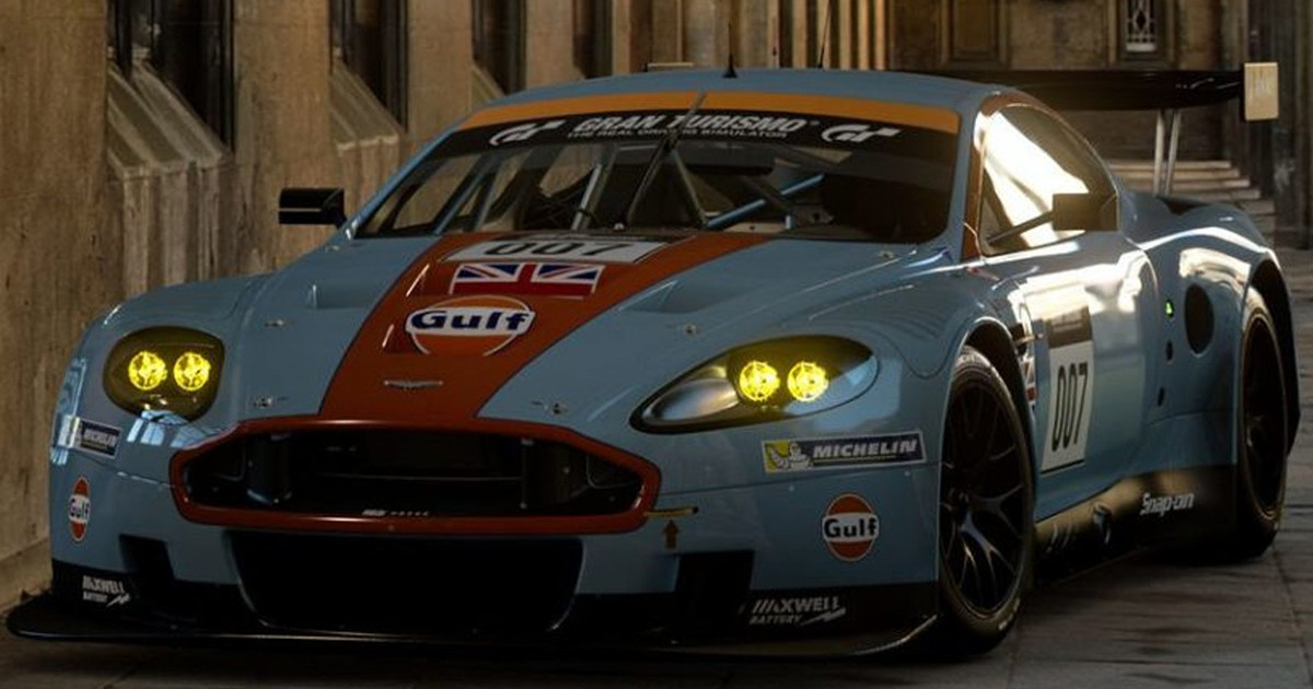 It S Finally Here The Aston Martin Dbr9 Gt1 Is Now Available In Gt Sport