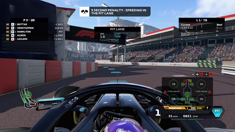 Speeding in the pitlane can cost you five seconds and perhaps a race.