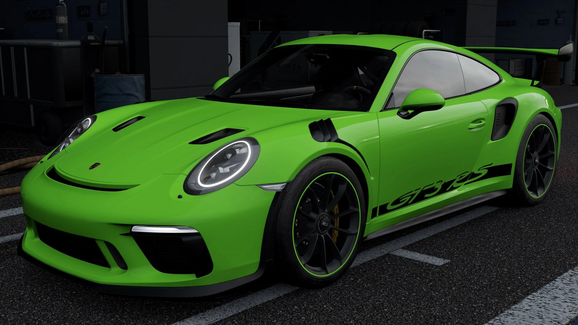picture of a 20119 Porsche 911 GT3 RS in Forza Motorsport 7