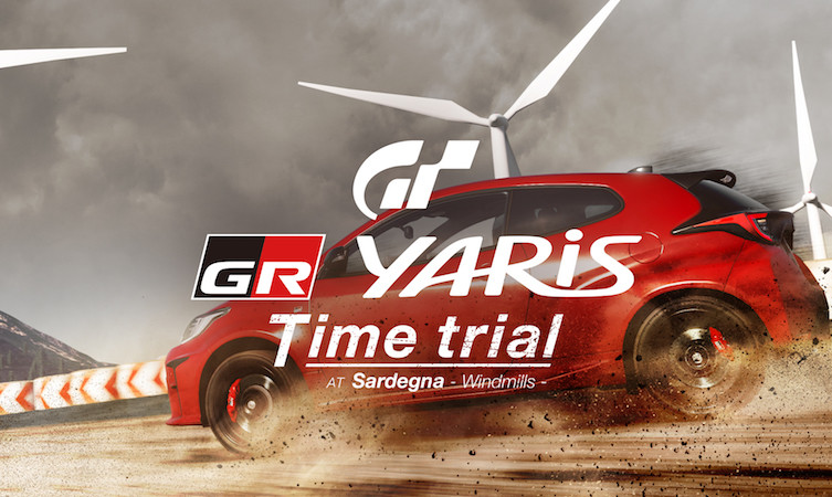 The GR Yaris is part of a Time Trial event in GT Sport.