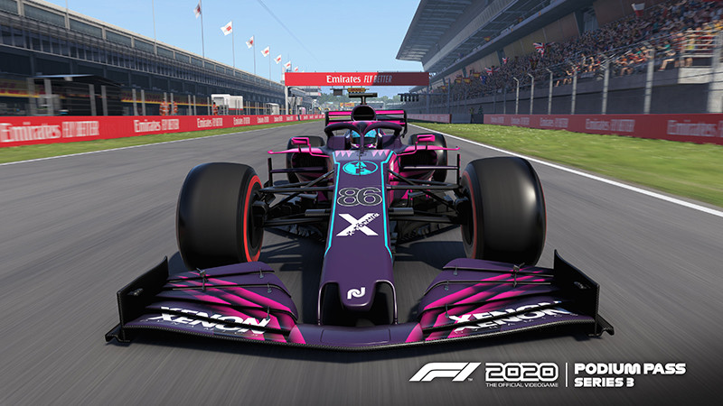 picture of a new livery for a Formula 1 car