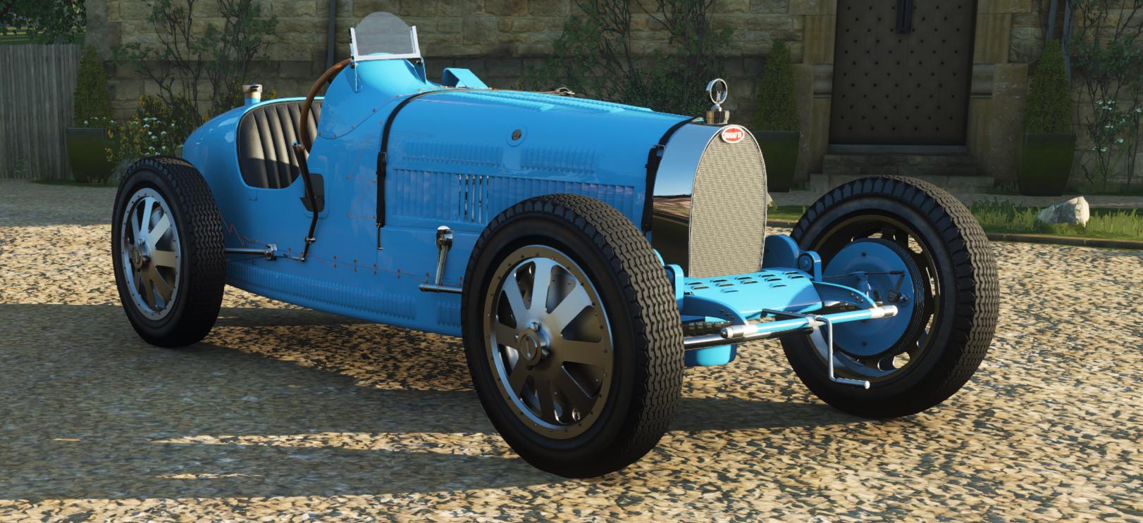 screenshot of the Bugatti Type 35 C