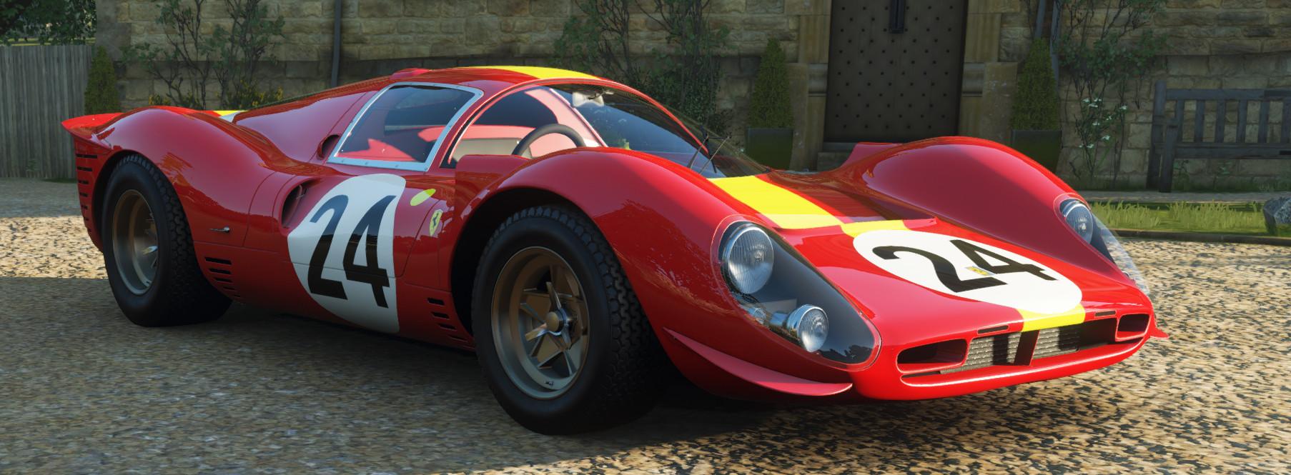 screenshot of the Ferrari #24 Ferrari Spa 330 P4
