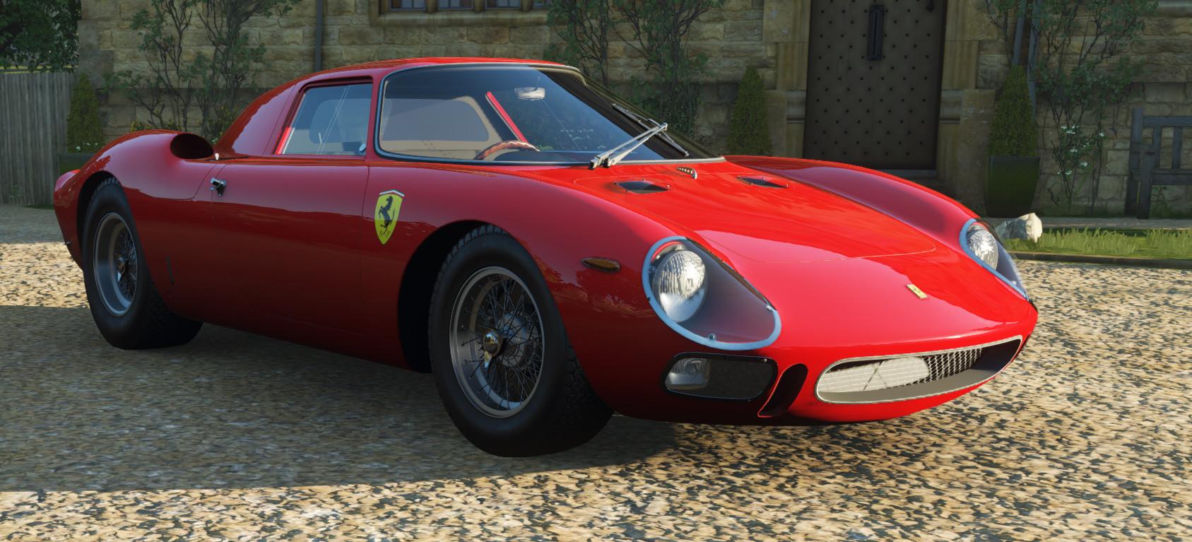 screenshot of the Ferrari 250LM