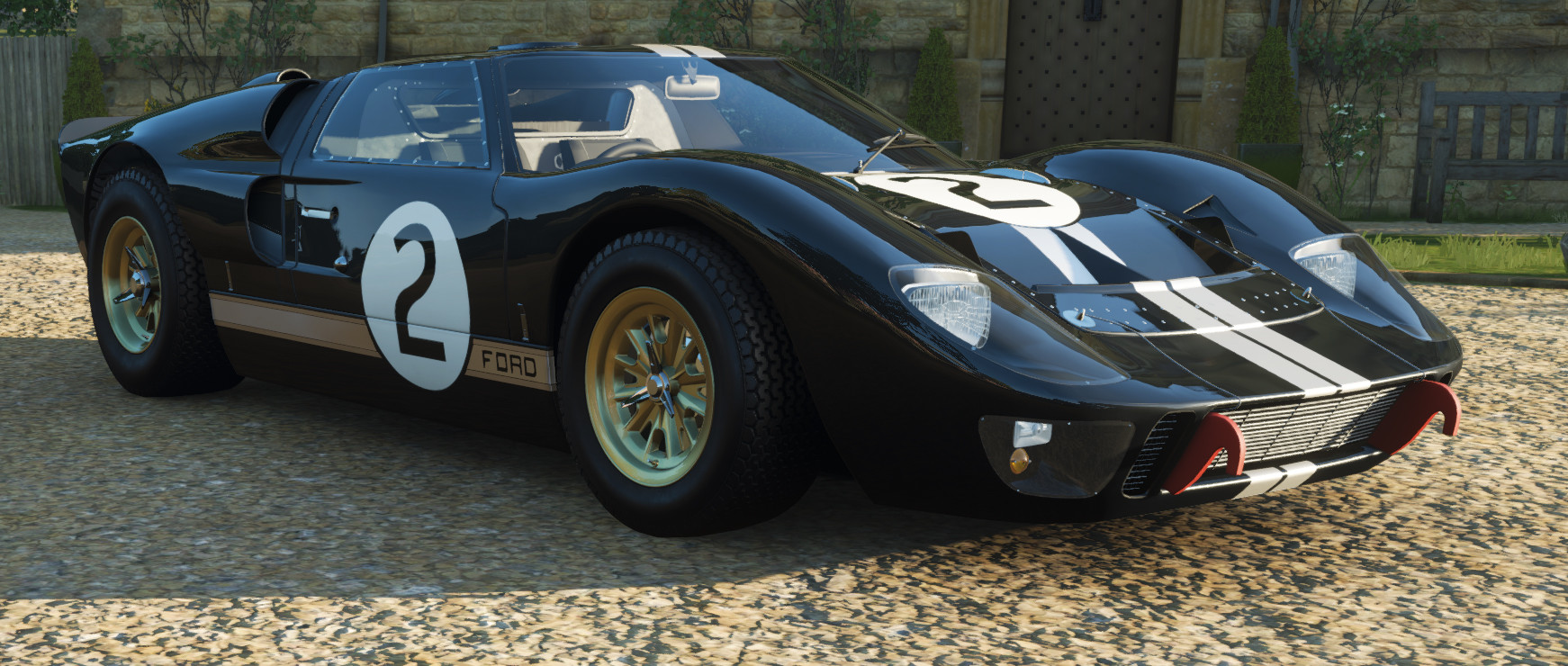 screenshot of the Ford #2 GT40 MkII