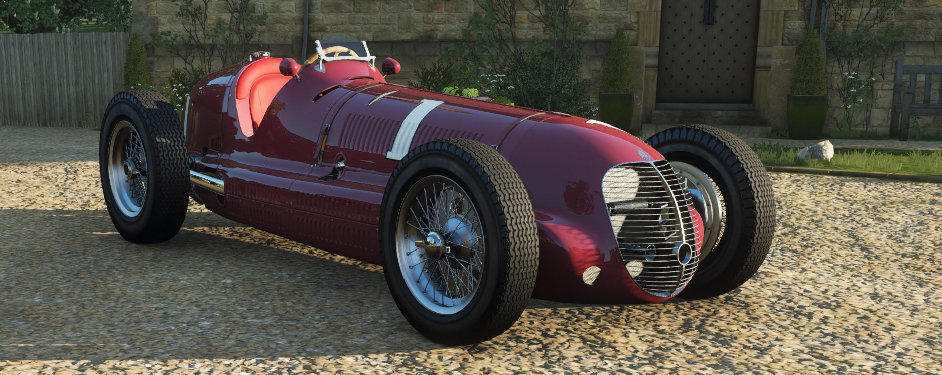 screenshot of the Maserati 8CTF