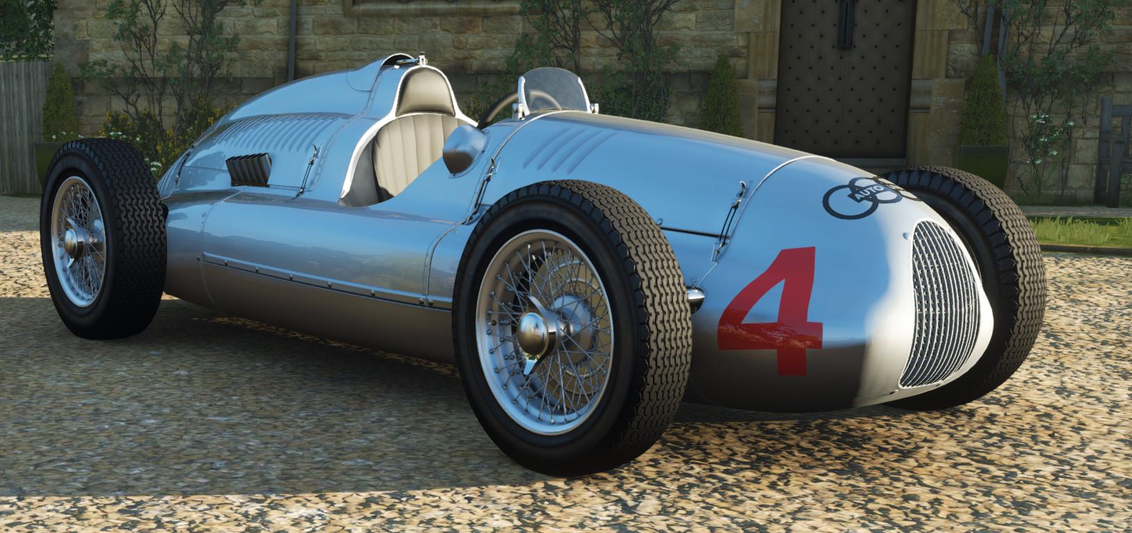 screenshot of the Auto Union Type D