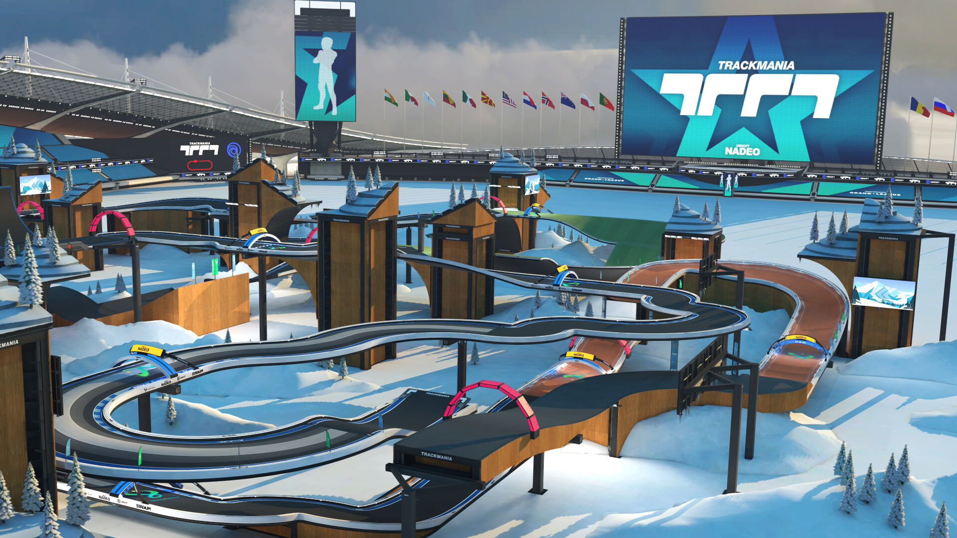 Picture of a Trackmania map