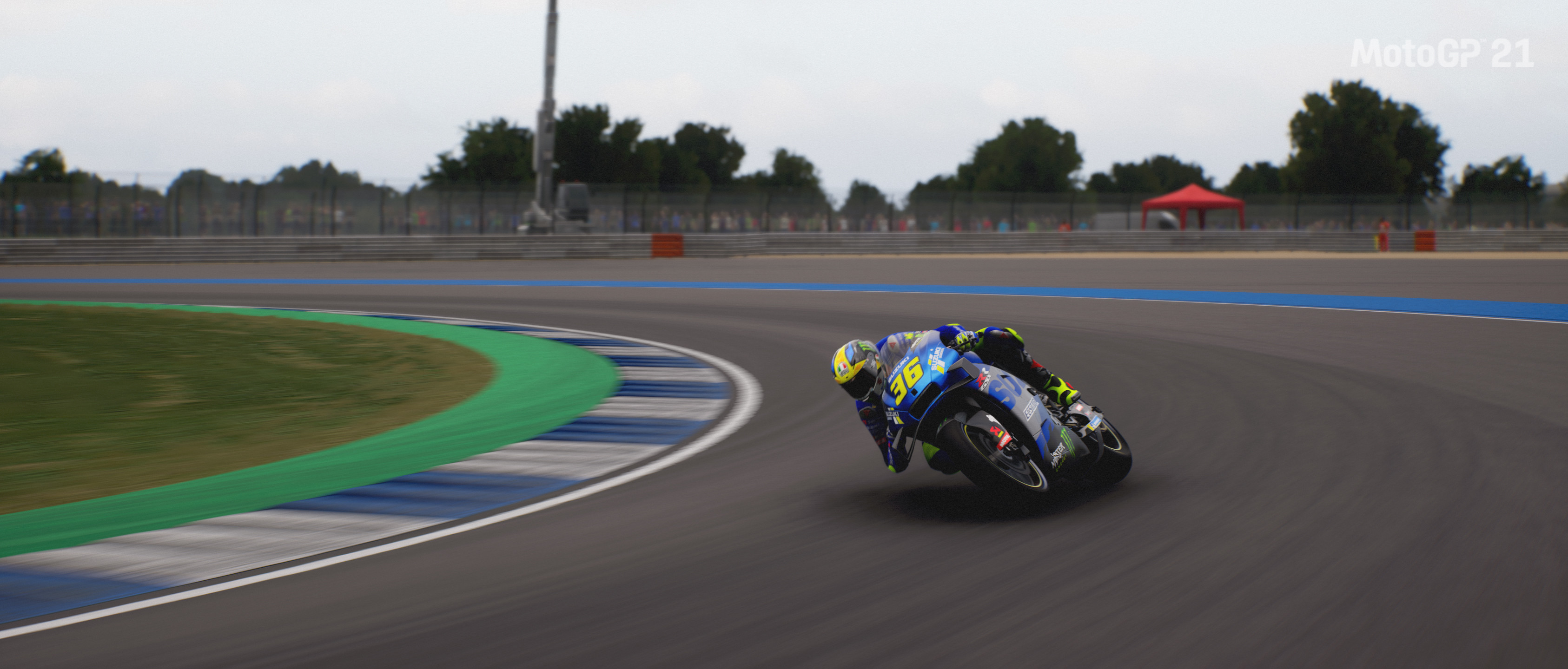 Picture of the Suzuki GSX-RR driven by Joan Mir