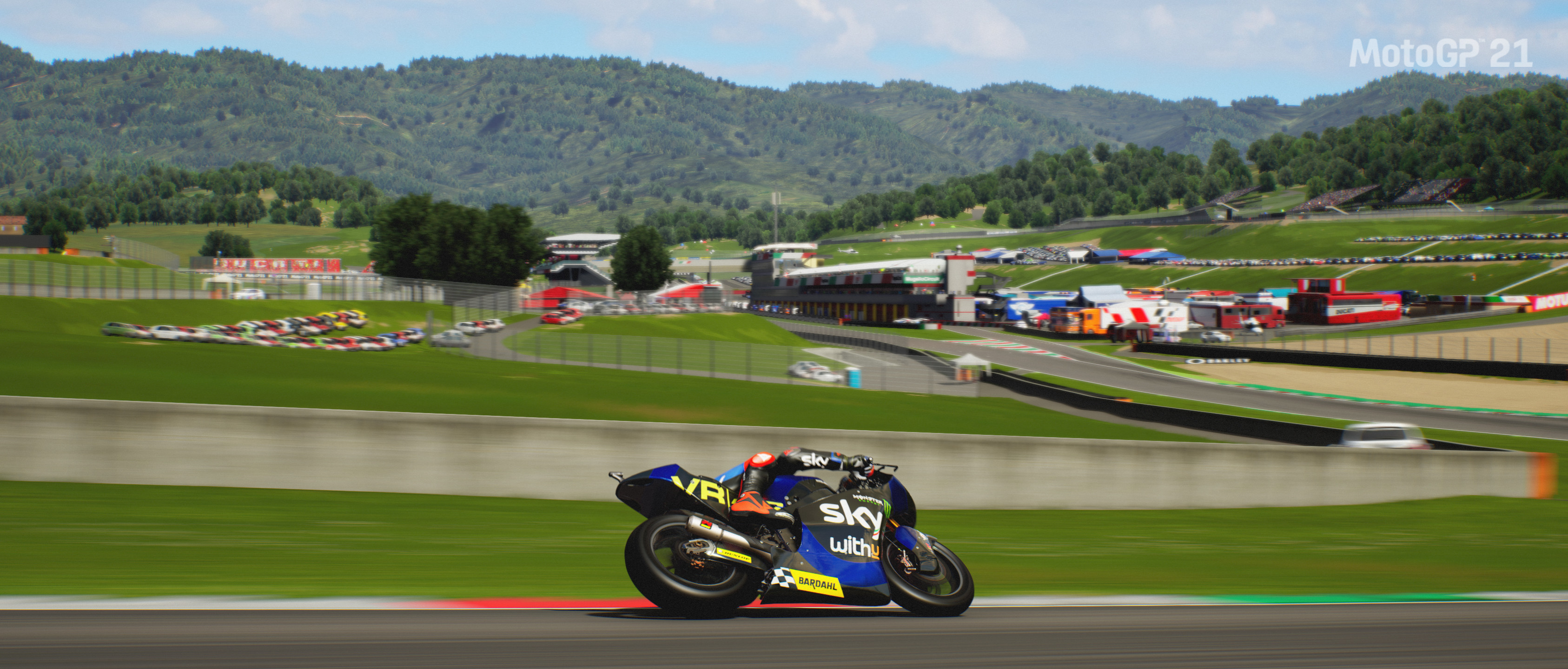 Picture of the Kalex engineering Moto 2 driven by Marco Bezzecchi