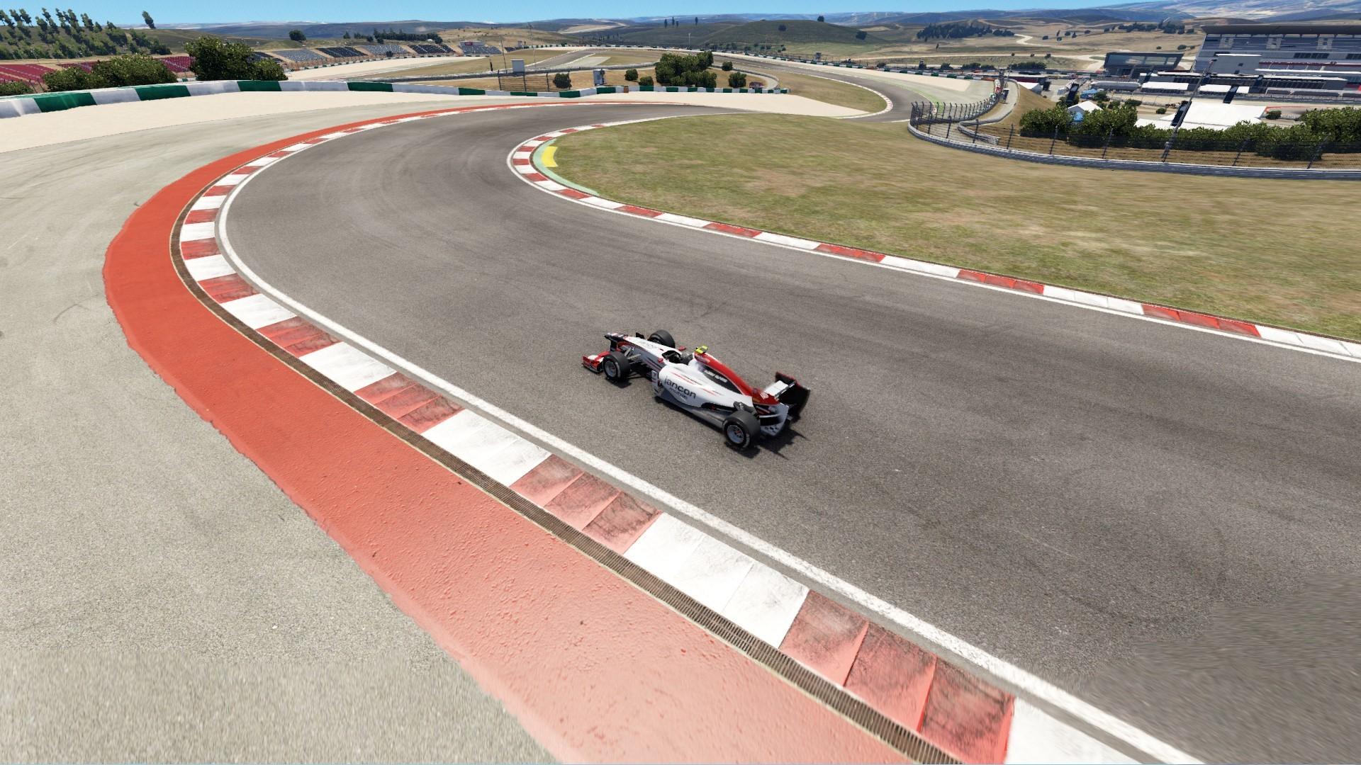 car entering turn 11