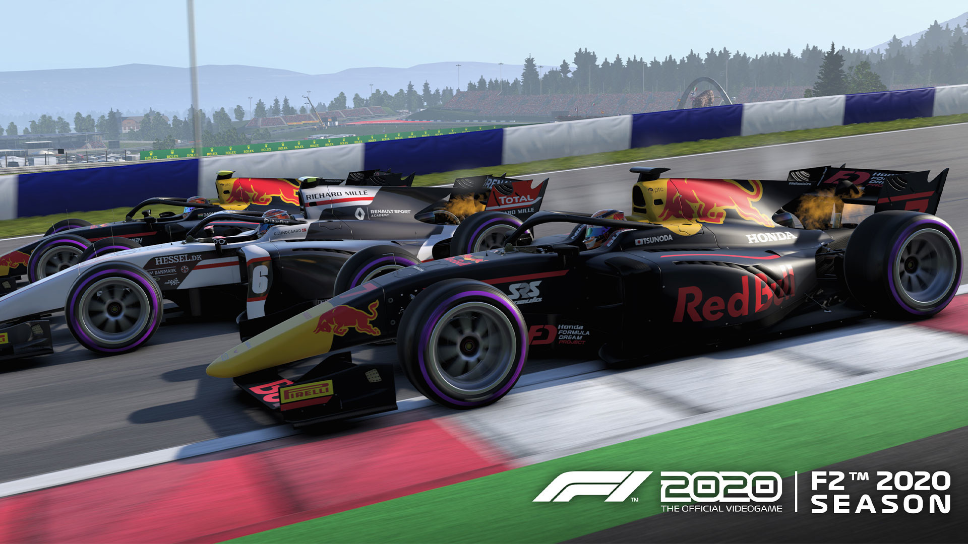 Red Bull f2 car at the Red Bull Ring in Austria