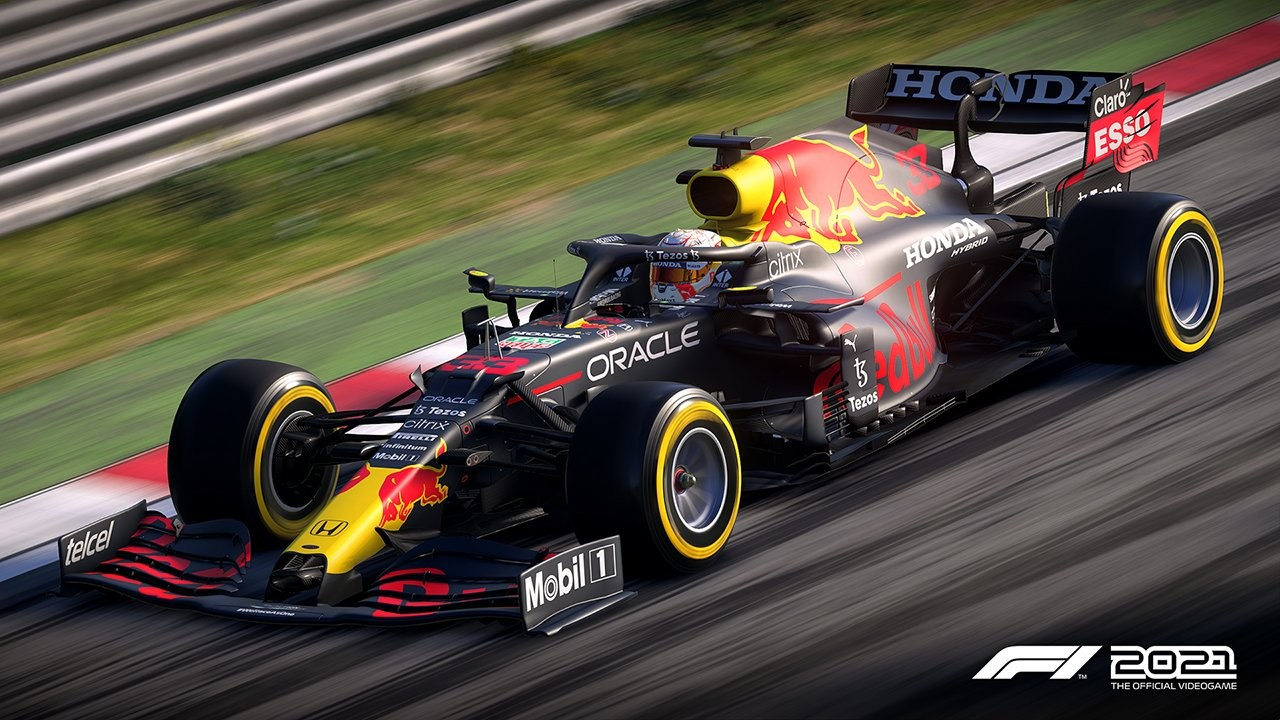 An image of a Red Bull F1 car in F1 2021.